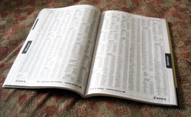 Omessa o errata indicazione negli elenchi telefonici